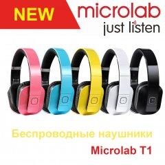 Обзор беспроводных наушников Microlab T1