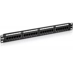 Патч-панель, Patch panel 24 port UTP Cat 5e
