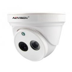 Купольная IP камера, AE-2B01-0103-VP (1080P Dome camera with POE conventer)