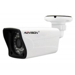 Цилиндрическая IP камера, AE-2AA1-3603-V (1080P bullet camera with POE converter)