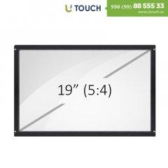 Инфракрасная сенсорная рамка со стеклом, 19-дюймов (4 касаний) (5-4)