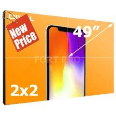 """Видеостена LCD FP-2x2 49"""" диагональ"""