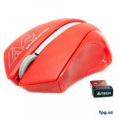 USB Беспроводная мышка A4-Tech G3-310N Smooky Red