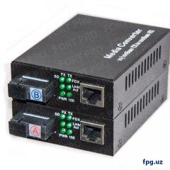 Медиаконвертер TP-Link FP-1F1T-A20 / B20 100M WDM 1310 /1550