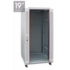 Шкаф настенный 27U 600*800mm ПЕРФОРИРОВАННЫЙ (неукомплектованный)