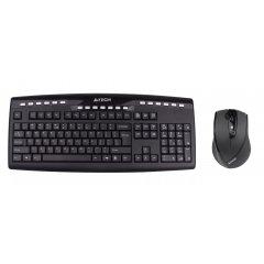 USB Беспроводной комплект клавиатуры и мыши A4-Tech 9200F