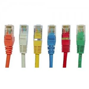 Патч корд 3 м. Patch cord UTP cat 5e, 3m