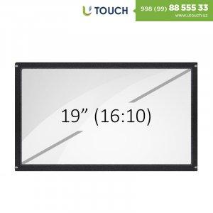 Инфракрасная сенсорная рамка со стеклом, 19-дюймов (10 касанй) (16-10)