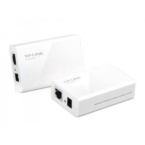 Инжекторный адаптер PoE TP-Link TL-PoE200 (PoE-инжектор+сплиттер)