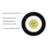 Оптический кабель, Single Mode, 4-UT04  канализация, FP Mark - 0