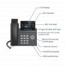 Grandstream IP телефон GXP2612P (без POE адаптера) IP NETWORK TELEPHONE - 1