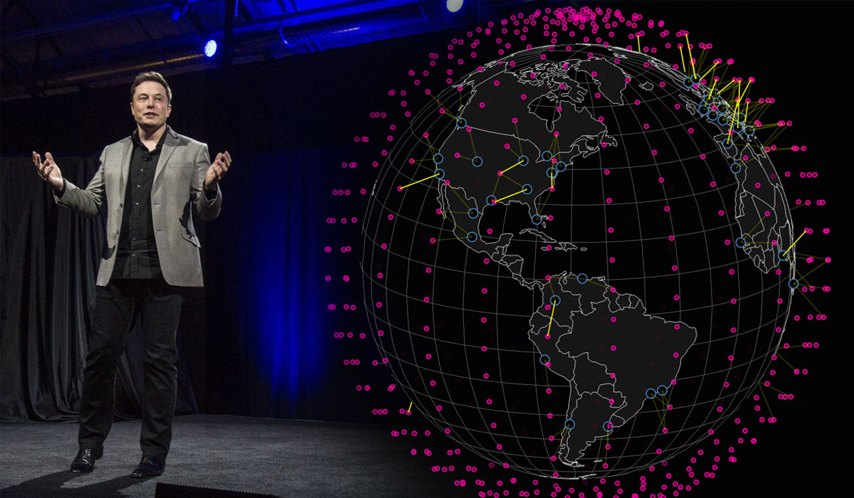 маск спутниковый интернет